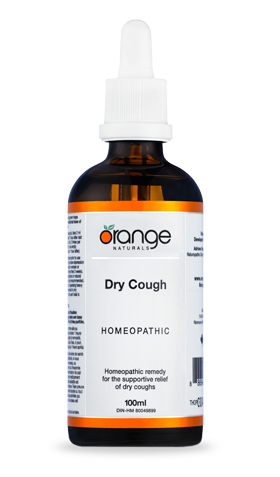 Dry Cough (100ml) | Orange