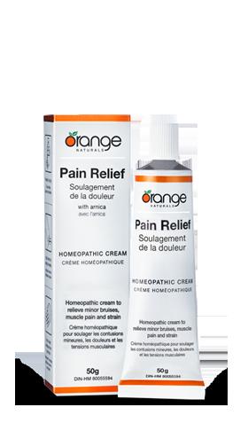 Pain Relief Cream (50g) | Orange