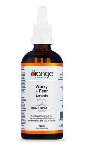 Worry + Fear for Kids (100ml) | Orange