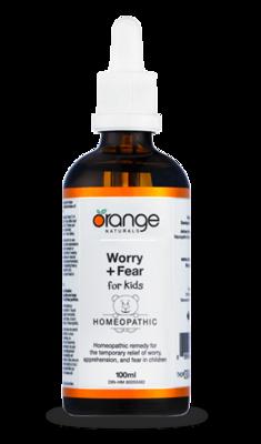 Worry + Fear for Kids (100ml)   Orange