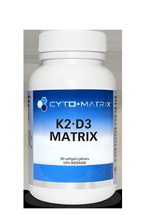 K2-D3 Matrix (90 softgels) | Cyto-Matrix