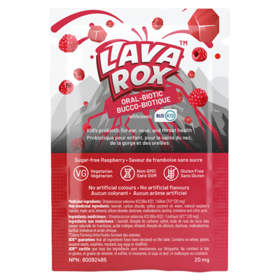 Lava Rox 20mg single Package AOR