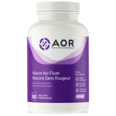 Niacin-no flush - AOR