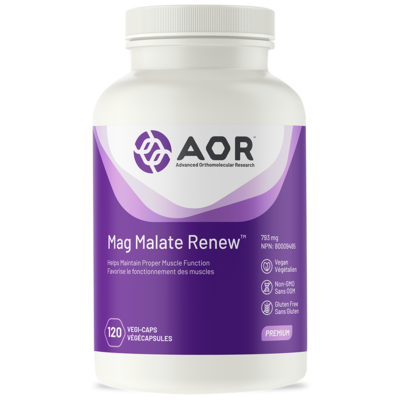 Magnesium Malate Renew - AOR 120caps