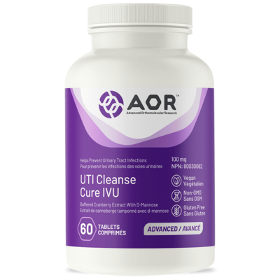 UTI Cleanse 120 caps - AOR