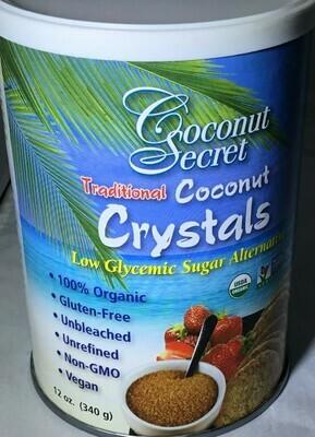 Coconut Secret Crystals- 15% off sale
