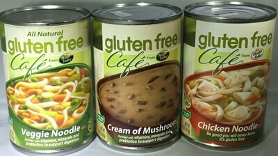 Gluten Free Cafe Soups