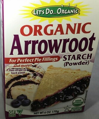 Let's Do Organic Arrowroot Starch