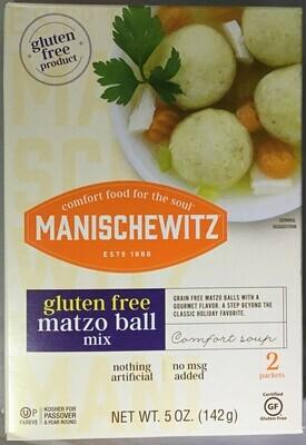 Manischewitz GF Matzo products