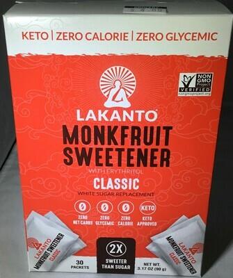 Lakanto Monkfruit Sweetners