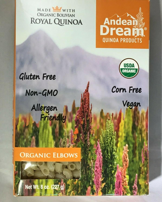Andean Dream Organic Quinoa Elbows