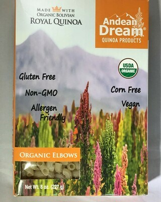 Andean Dream Organic Quinoa Elbows
