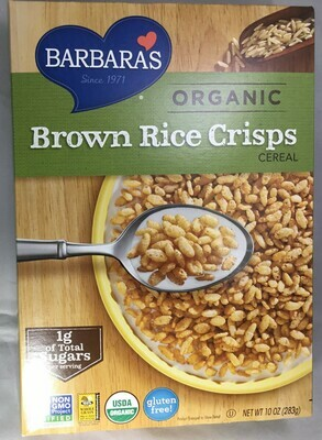 Barbara's Bakery Brown Rice Crisp- 50% off sale!