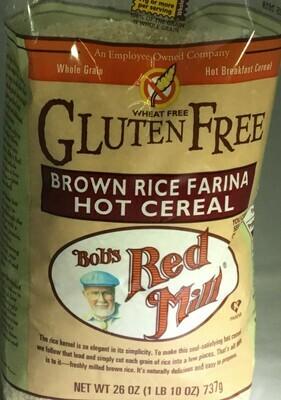 Bobs Redmill Cereals GF