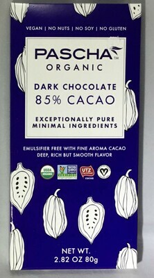 Pascha Chocolate Bars Vegan GF