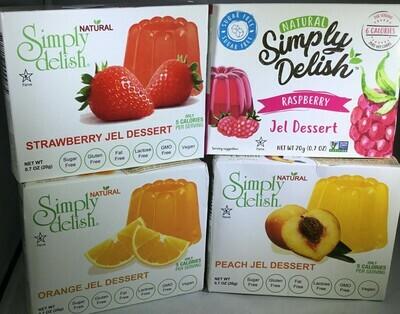 Simply Delish Vegan- 25% off all Jels