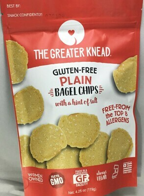 The Greater Knead Bagel Chips 4.5 oz