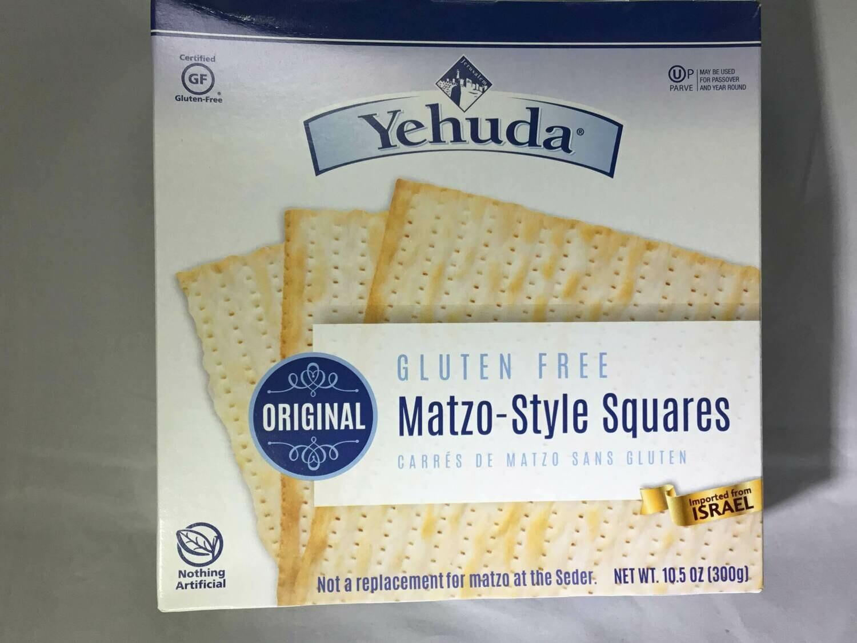 Yehuda Matzo crackers GF