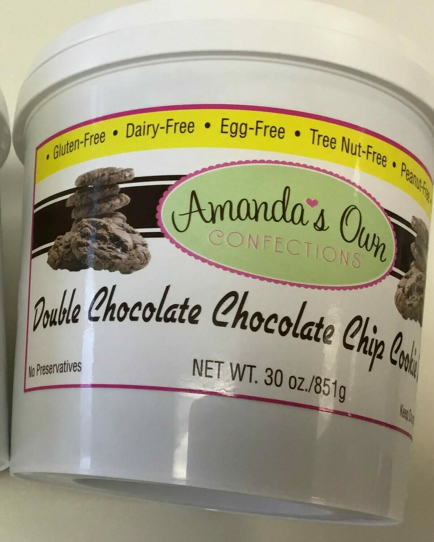 Amanda's Own cookie dough double choc chip