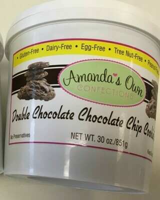 Amanda's Own cookie dough double choc chip
