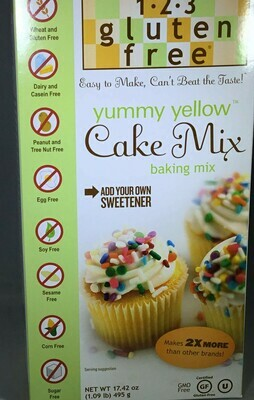 1-2-3 Gluten Free Baking Mixes