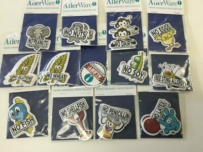 AllerWare Stickers