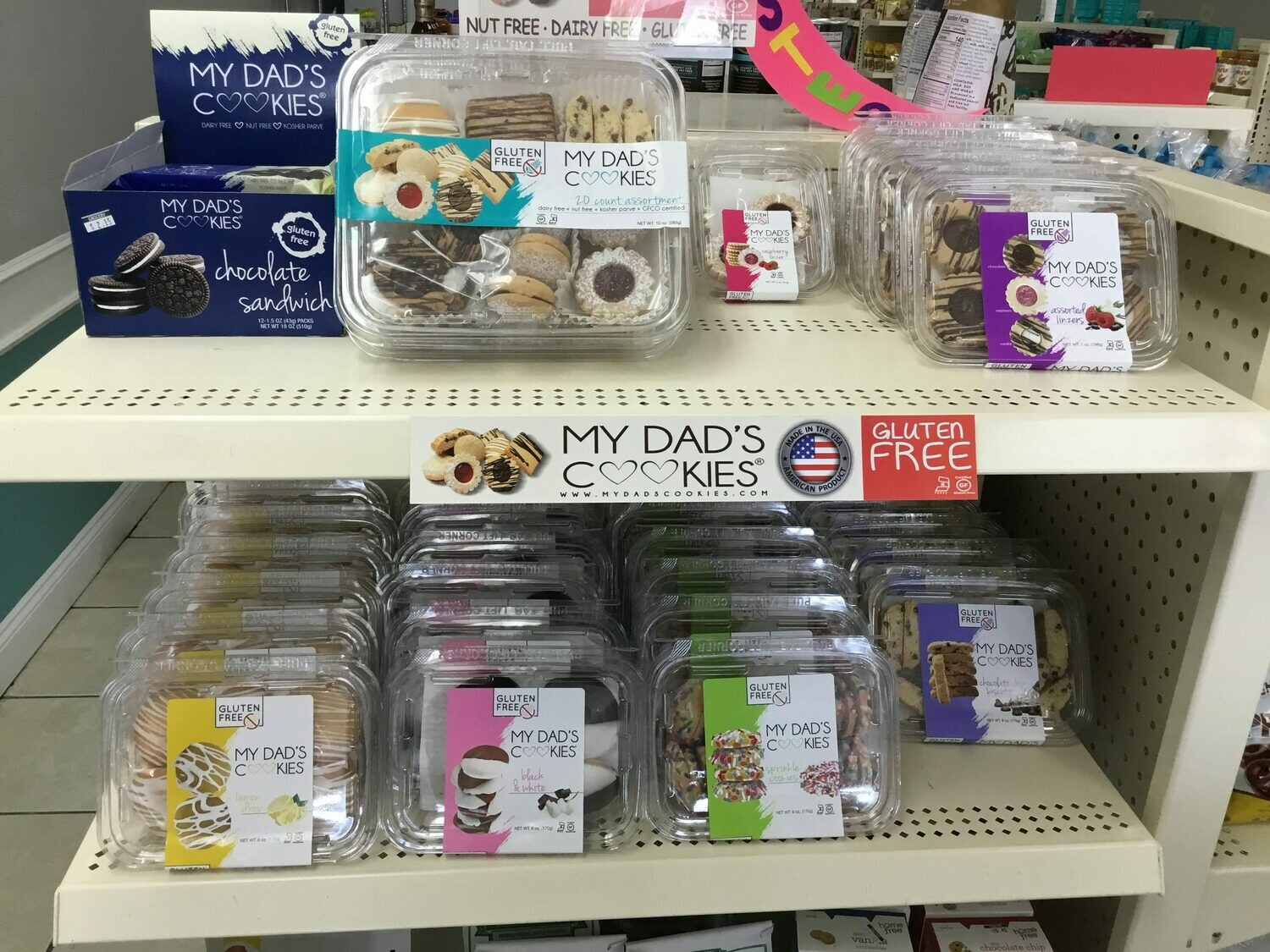 My Dads Cookies GF DF- 10% OFF Sale!!