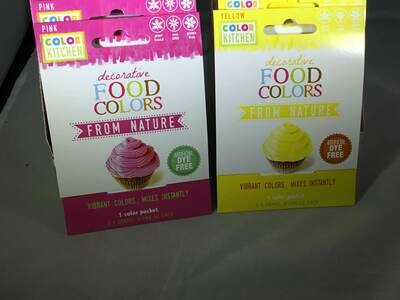 Color Kitchen Food Colors- DYE free