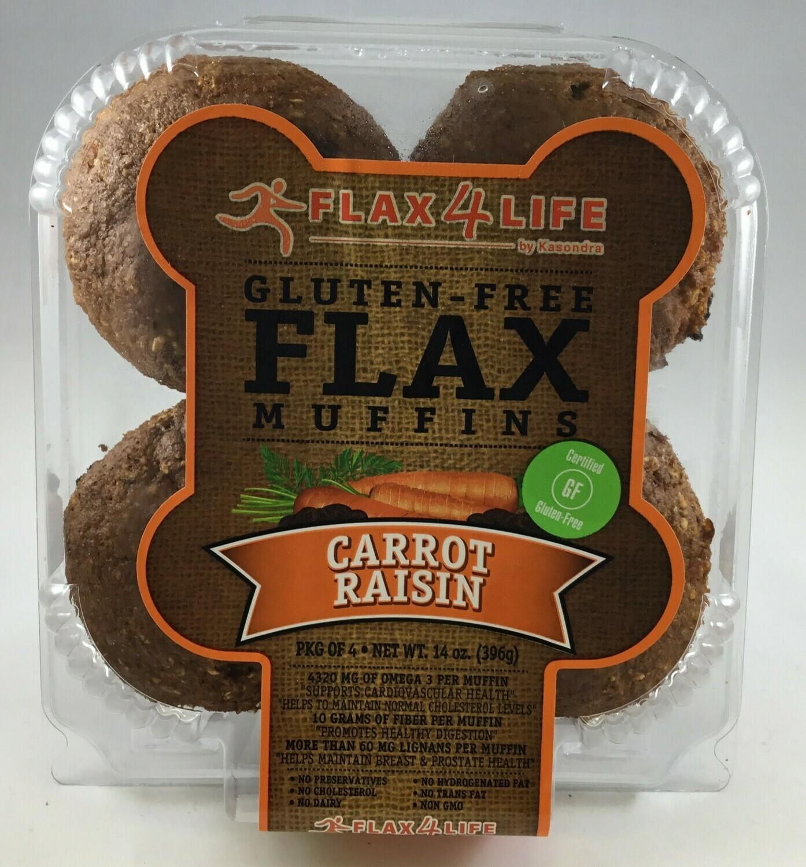 Flax 4 Life GF Muffins 4pack