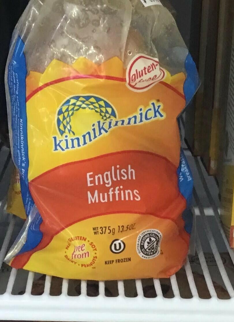 Kinnikinnick Muffins