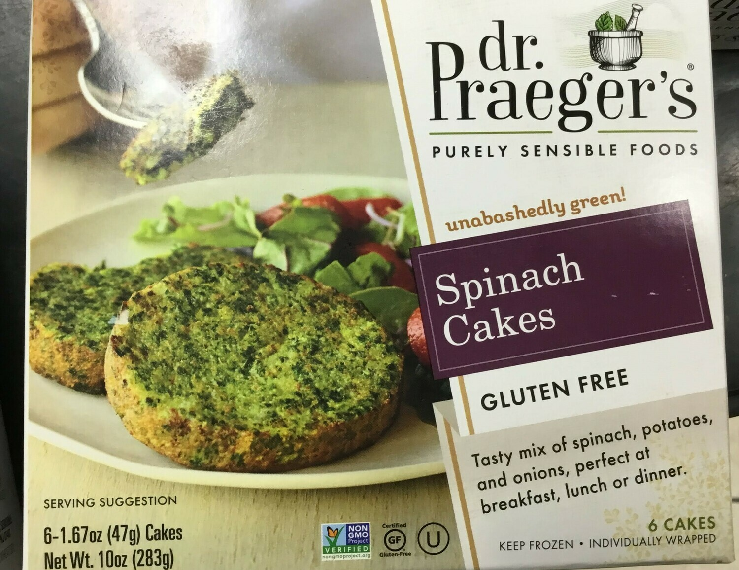 Dr. Praeger's Spinach Cakes