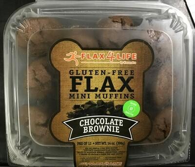 Flax 4 Life Brownie Mini Muffins 12 Pack