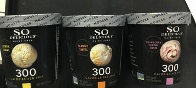 So Delicious Frozen Mousse- pint- 50% off sale