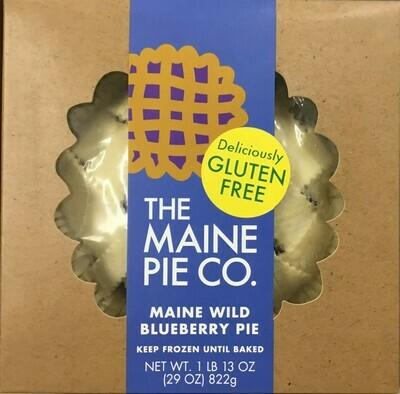 Maine Pie Company GF Pies-50% off pumpkin pie!