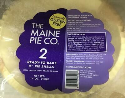 Maine Pie Company GF Pie Shells