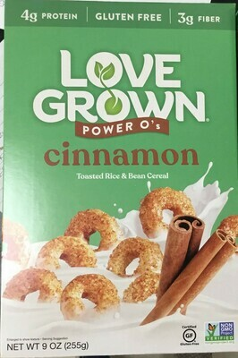 Love Grown Cereals