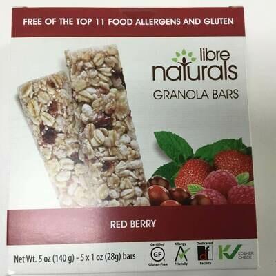 Libre Naturals Granola Bars- Clearance