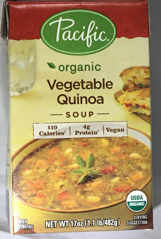 Pacific GF Soups Veg Quinoa- 25% off sale