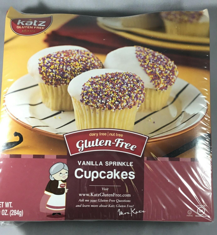 Katz Cupcakes Vanilla sprinkles- 25% off sale