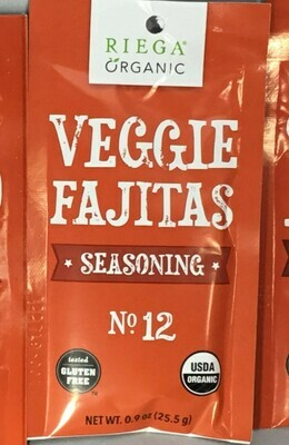 Riega Veg Fajita Seasoninig Mix- Clearance