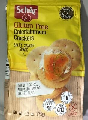 Schar GF Crackers & Cookies