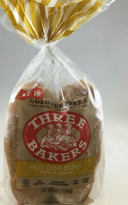 Three Bakers Hot Dog Rolls- 50% off Clearance item