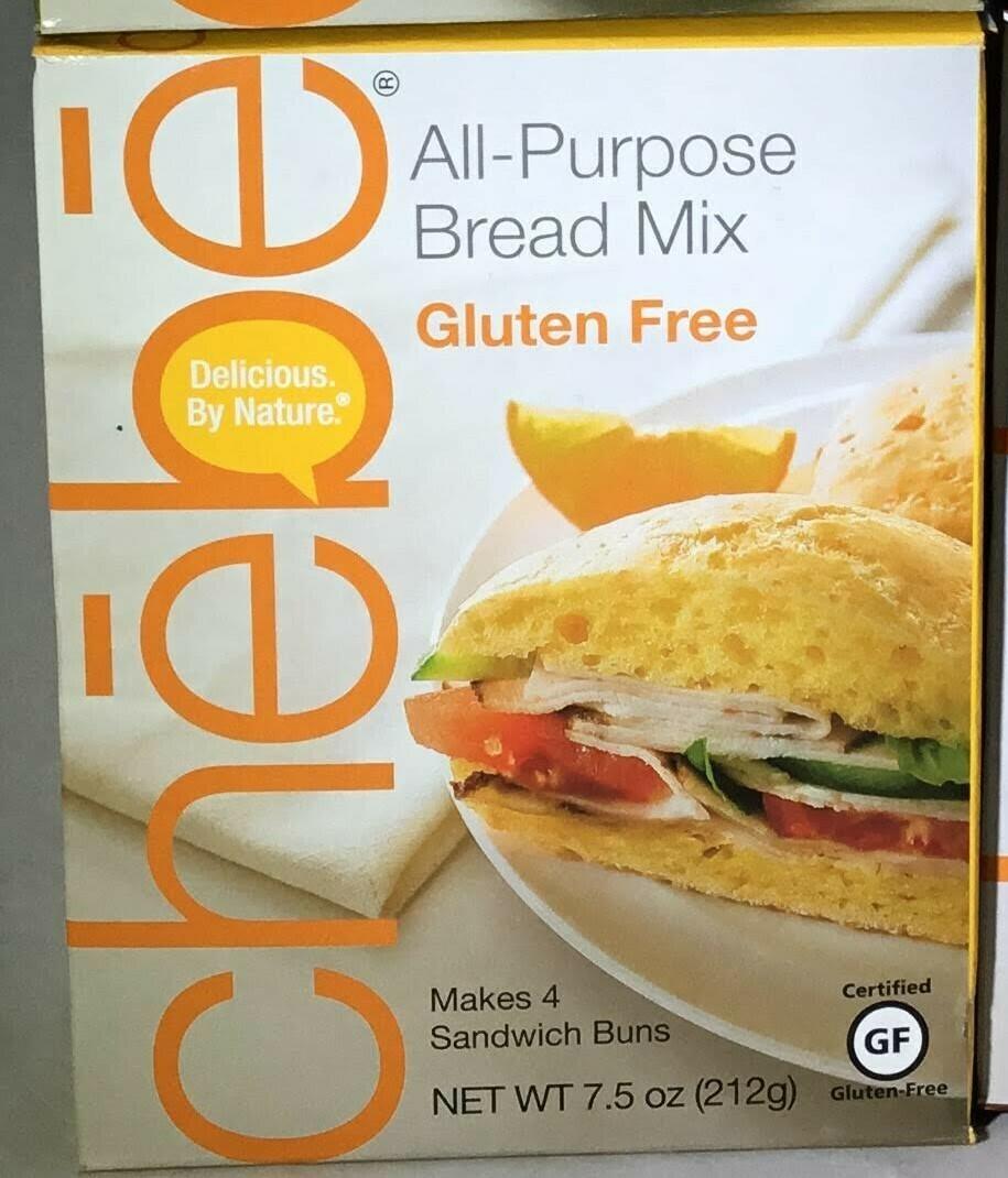 Chebe GF All Purpose Bread Mix- 25% off Sale