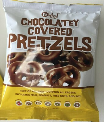 No Whey Chocolate Covered Pretzels