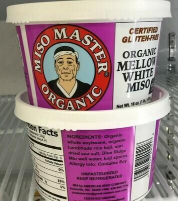 Miso Master Organic Mellow White Miso- 25% off sale!