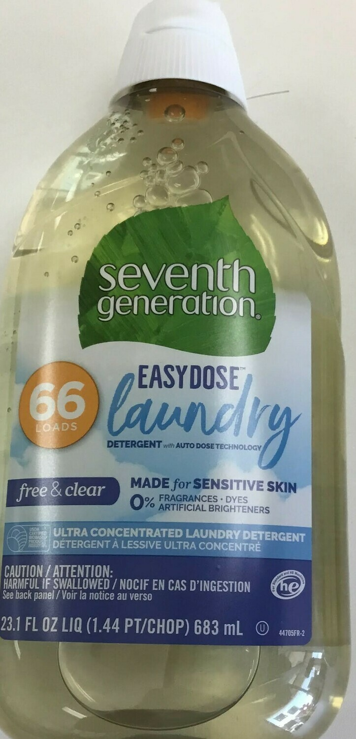Seventh Generation Laundry Det 23.1oz-- SALE 20%!