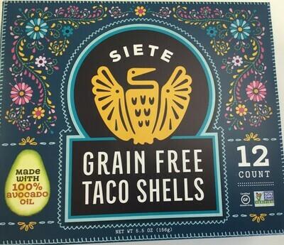 Siete Taco Shells- Grain Free