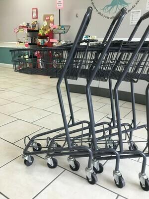 Set of 5 Shopping Carts