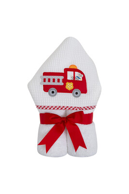 3M Everyday hooded towel Firetruck