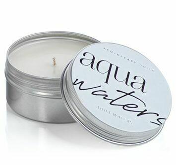 Z Candle Tin Aqua Waters